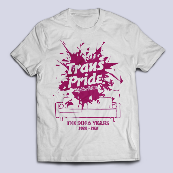 T-shirt unisex - White, front
