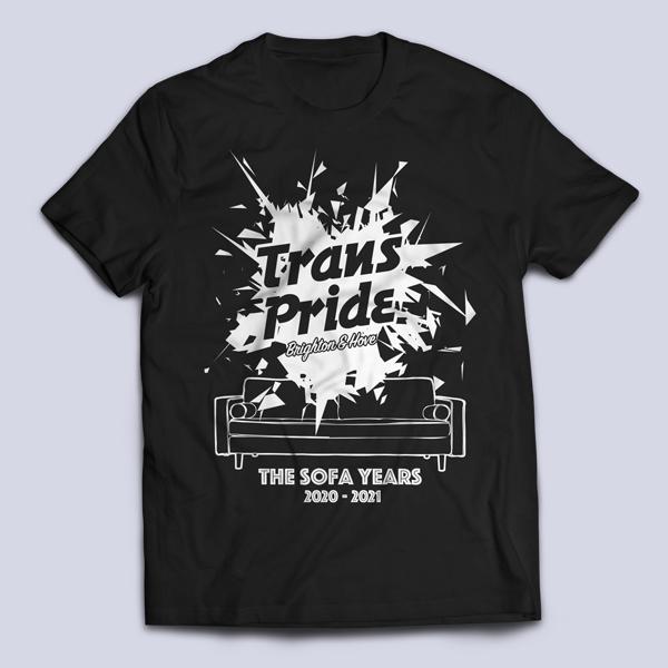 T-shirt unisex - Black, front