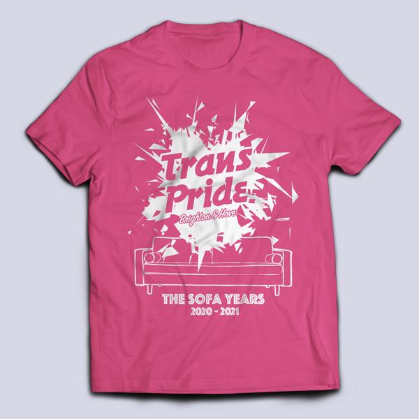 T-shirt unisex - Fuchsia, front