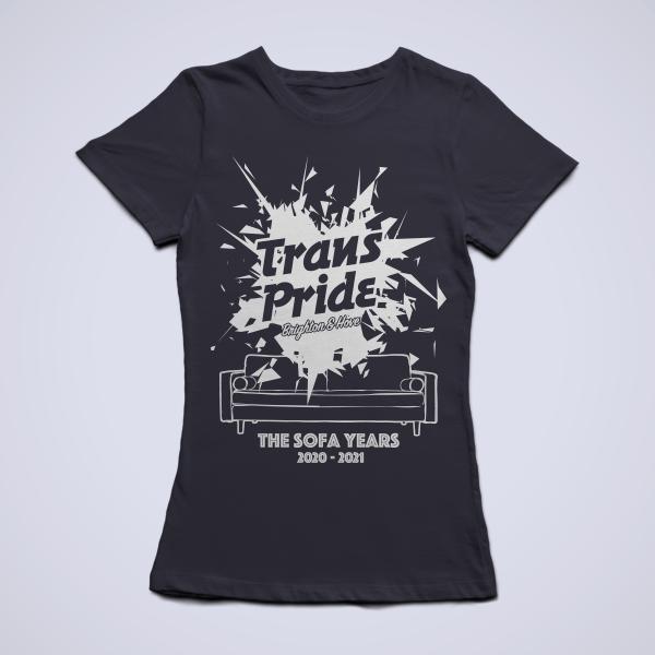 T-shirt slim fit - Black, front
